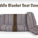 Brown-saddle-seat-cover